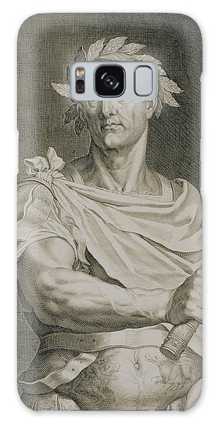 Ides Of March Galaxy Case - C. Julius Caesar Emperor Of Rome by Titian