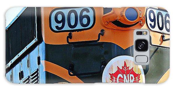 C N R Train 906 Galaxy Case by Barbara Griffin
