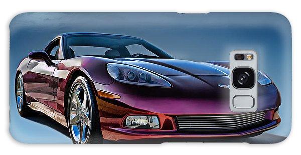 Chrome Galaxy Case - C6 Corvette by Douglas Pittman