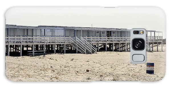 Cabanas Breezy Point Surf Club Galaxy Case by Maureen E Ritter