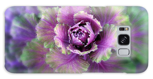 Cabbage Galaxy S8 Case - Cabbage Flower by Jessica Jenney