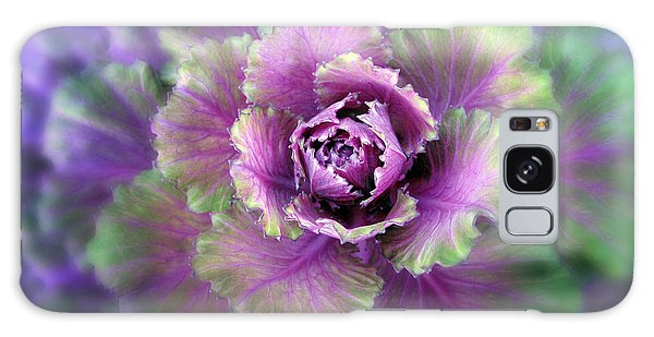 Cabbage Flower Galaxy Case