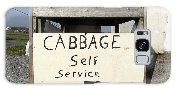 Cabbage Self Service Galaxy Case