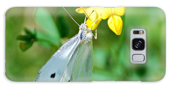 Cabbage White Butterfly Galaxy Case by Lila Fisher-Wenzel