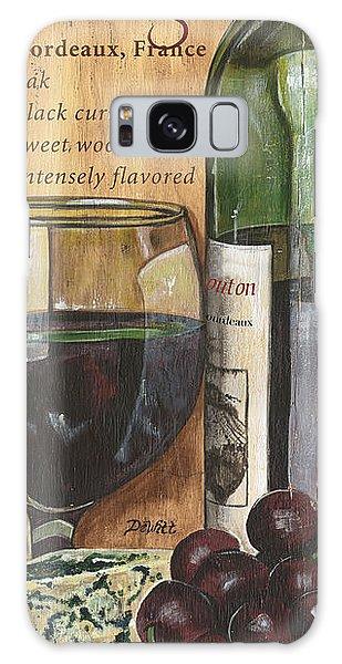 Still Life Galaxy Case - Cabernet Sauvignon by Debbie DeWitt