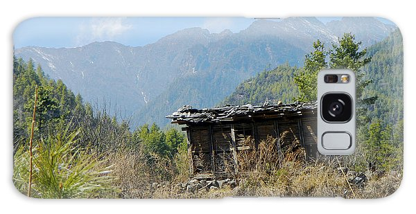 Cabin In Bhutan All Profits Go To Hospice Of The Calumet Area Galaxy Case
