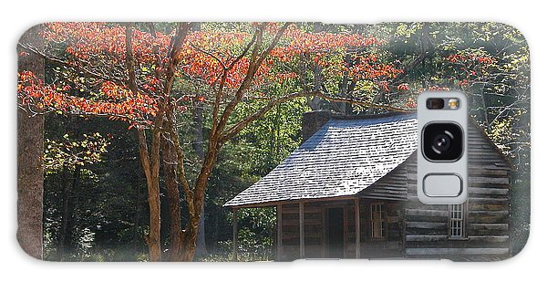 Cabin In Cades Cove Galaxy Case