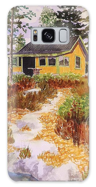 Cabin In Norway Galaxy Case by Suzanne McKay