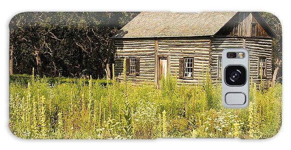 Cabin In The Prairie Galaxy Case