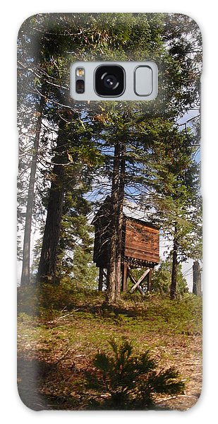 Cabin In The Woods Galaxy Case by Kristen R Kennedy