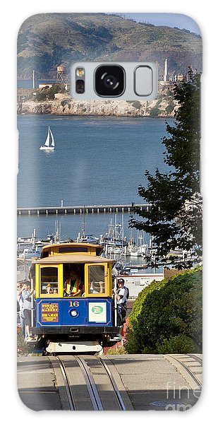 Cable Car In San Francisco Galaxy Case