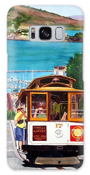 Cable Car No. 17 Galaxy Case