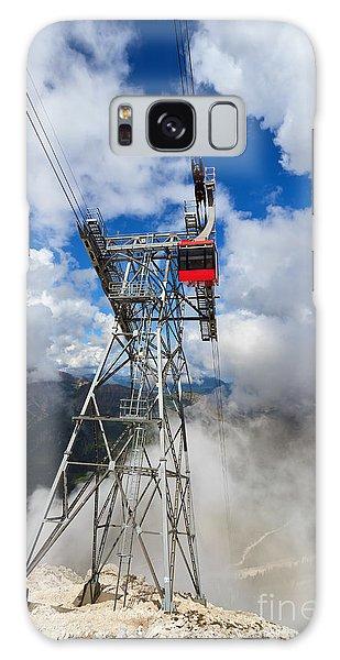 cableway in Italian Dolomites Galaxy Case