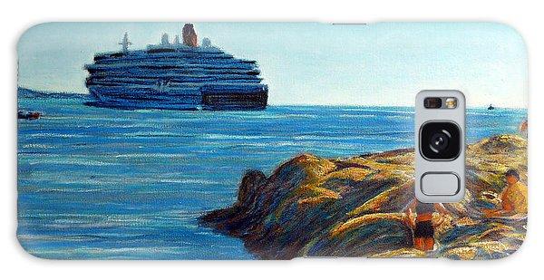 Cabo Marina Cruise Ship II Galaxy Case by Gerhardt Isringhaus
