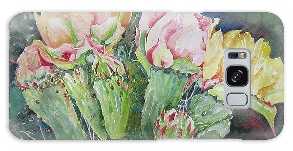 Cactus Blooms Galaxy Case