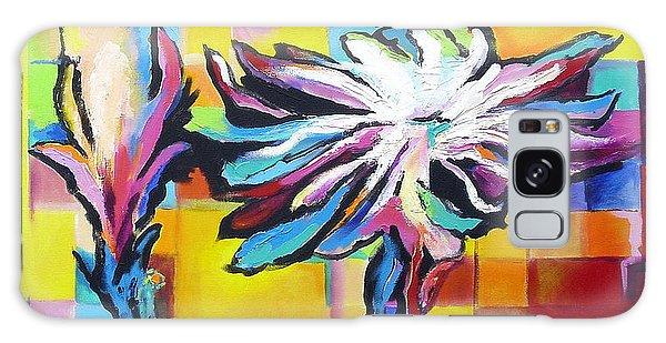 Cactus Blossom Galaxy Case by Jodie Marie Anne Richardson Traugott          aka jm-ART