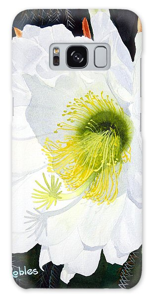 Cactus Flower II Galaxy Case