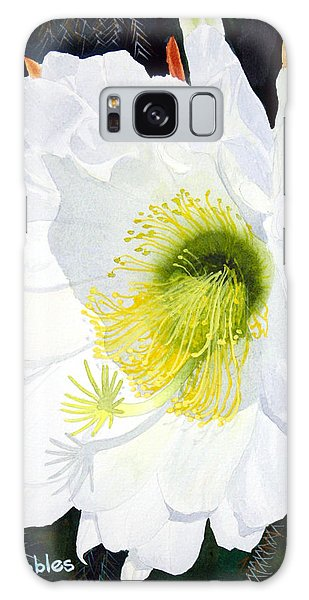 Cactus Flower II Galaxy Case by Mike Robles
