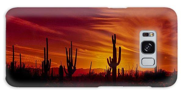 Cacti Galaxy Case - Cactus Glow by Mary Jo Allen