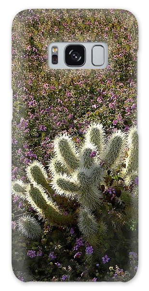 Cactus Surprise Galaxy Case