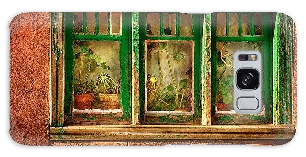 Cacti Galaxy Case - Cactus Window by Keith Berr
