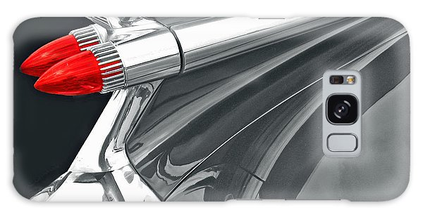 Caddy Classic Black And White Galaxy Case by Cheryl Del Toro