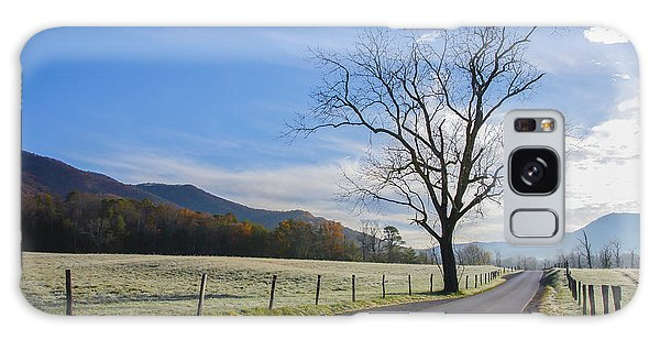 Tree On A Frosty Morn Galaxy Case by Marilyn Carlyle Greiner