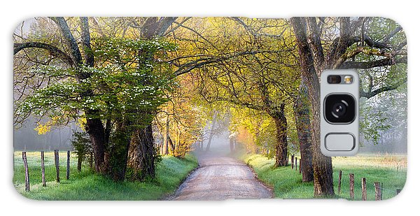 Horizontal Galaxy Case - Cades Cove Great Smoky Mountains National Park - Sparks Lane by Dave Allen