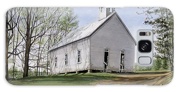 Cades Cove Methodist Church Galaxy Case by Bob  George
