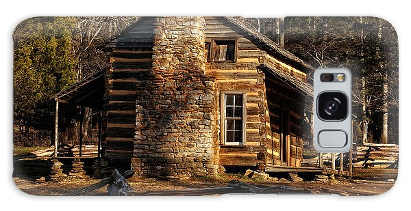 Cades Cove Oliver's Cabin Galaxy Case by Greg and Chrystal Mimbs