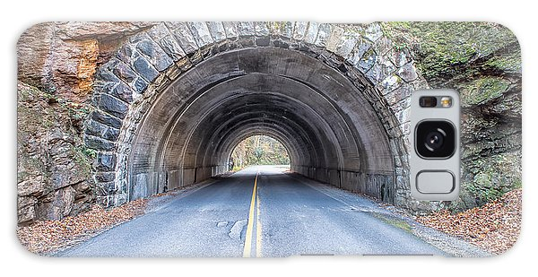 Cades Cove Road Tunnel Galaxy Case