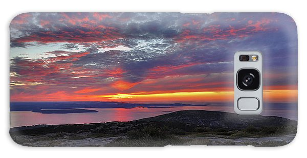 Cadillac Mountain Sunrise 2 Galaxy Case