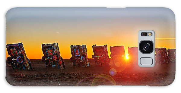Cadillac Ranch Sunset Galaxy Case