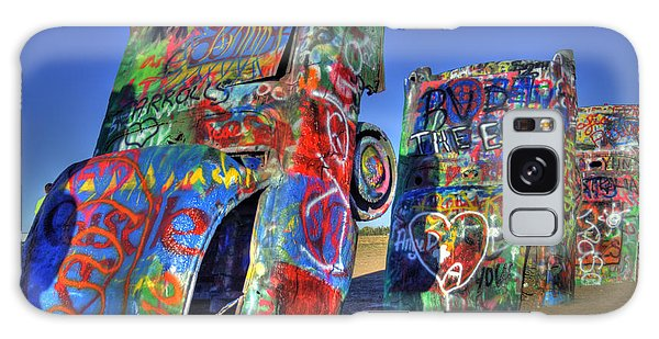 Cadillac Ranch Galaxy Case