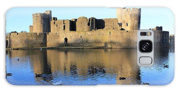 Caerphilly Castle Galaxy Case