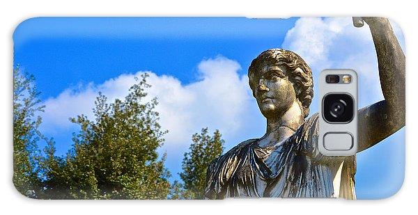 Caesar On Blue Sky Galaxy Case