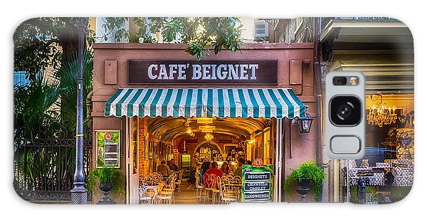 Cafe Beignet Morning Nola Galaxy Case