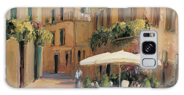Outdoor Dining Galaxy Case - Cafe Bordeaux by Allayn Stevens