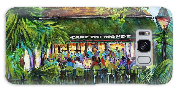 Cafe Du Monde Morning Galaxy Case by Dianne Parks