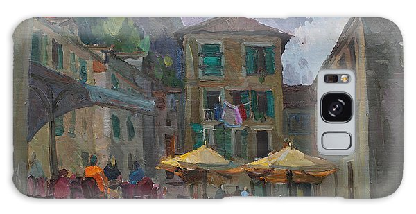 Cafe In Old City Galaxy Case