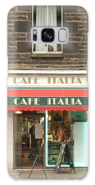 Street Cafe Galaxy Case - Cafe Italia by Mike McGlothlen