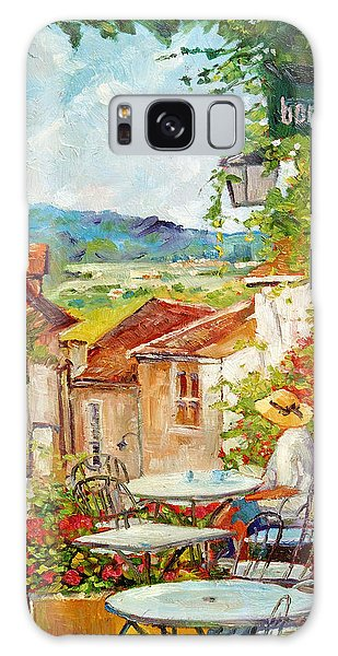 Cafe Provence Morning Galaxy Case