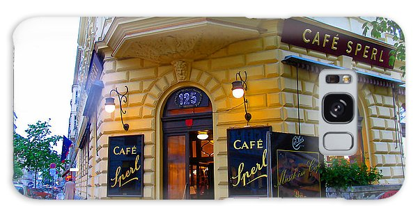 Cafe Sperl Vienna Galaxy Case