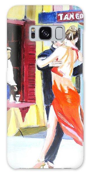 Cafe Tango Galaxy Case by Judy Kay
