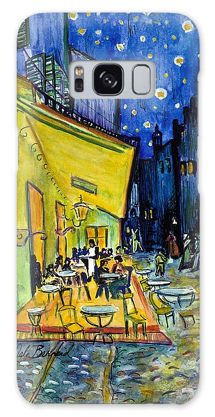 Cafe Terrace At Night Galaxy Case