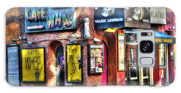 Street Cafe Galaxy Case - Cafe Wha? by Randy Aveille