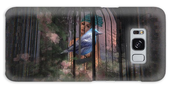 Caged Bird Galaxy Case