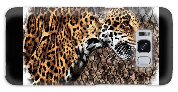 Caged Jaguar Galaxy Case