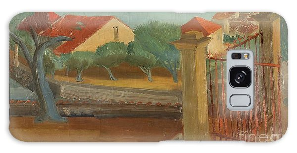 Russian Impressionism Galaxy Case - Cagnes-sur-mer by Celestial Images