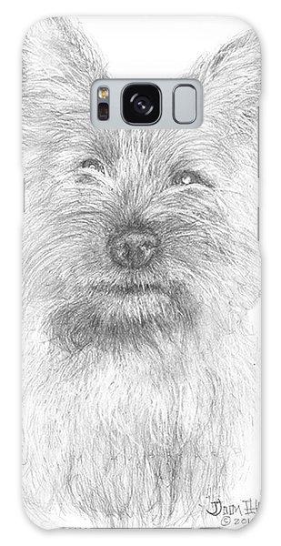 Cairn Terrier Galaxy Case by Jim Hubbard